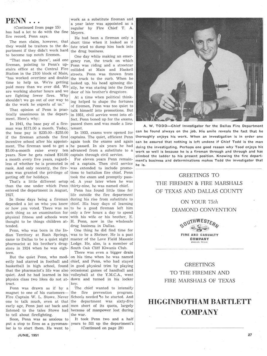 1951 Texas Fireman page 27