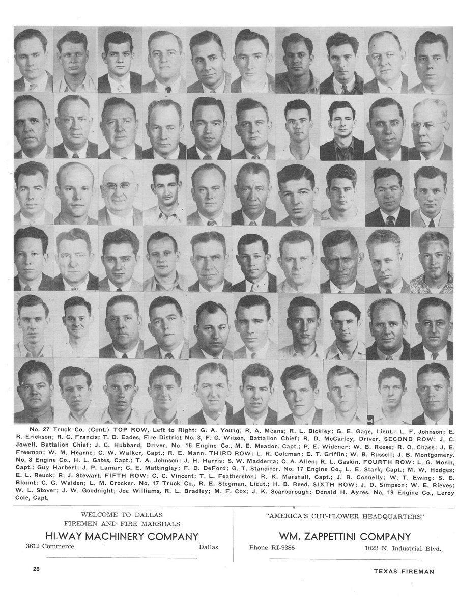 1951 Texas Fireman page 28