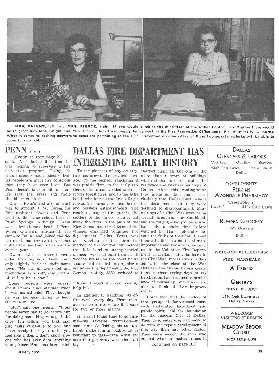 1951 Texas Fireman page 29