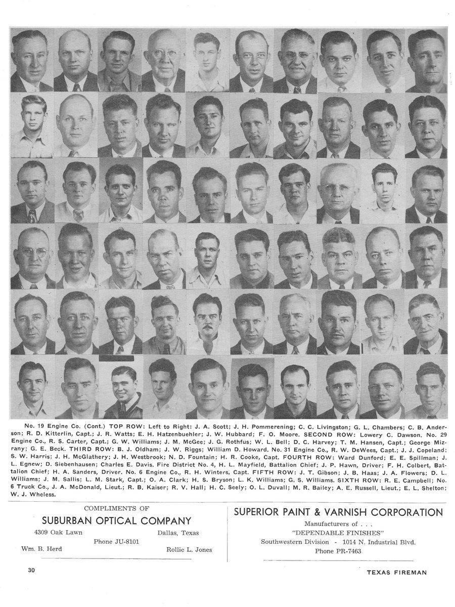 1951 Texas Fireman page 30