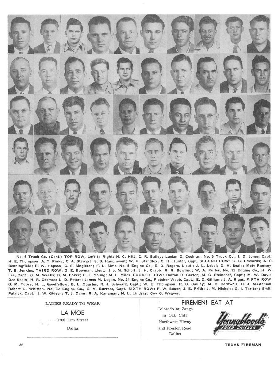 1951 Texas Fireman page 32