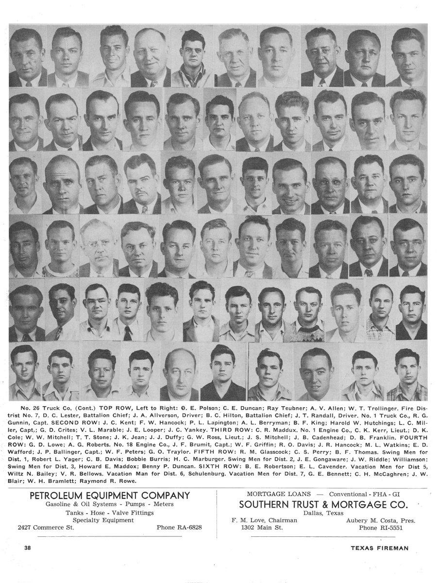 1951 Texas Fireman page 38