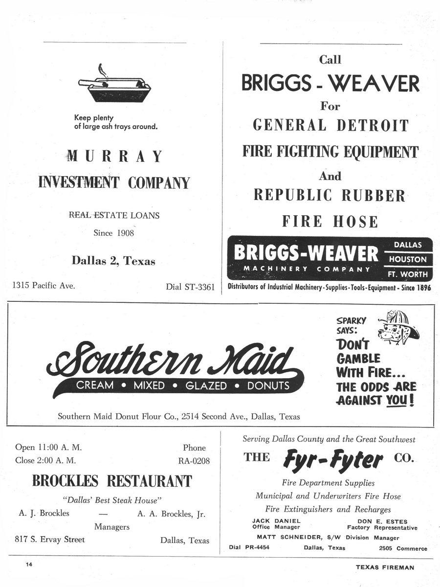 1955 Texas Fireman page 14