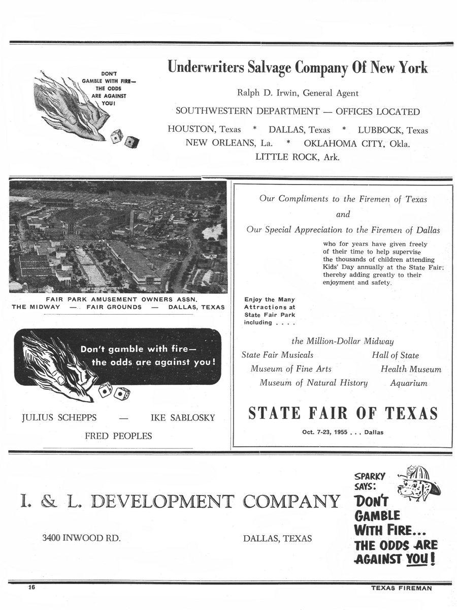 1955 Texas Fireman page 16