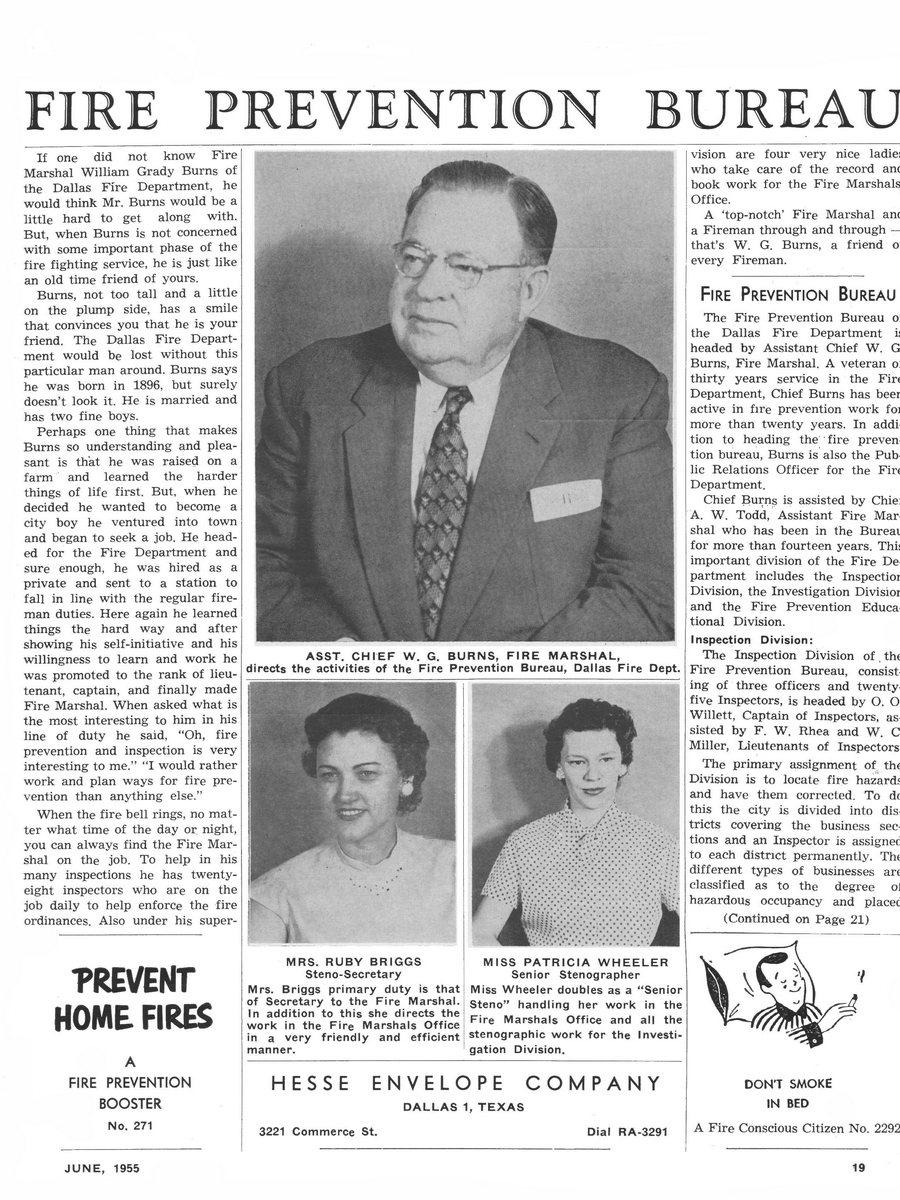 1955 Texas Fireman page 19