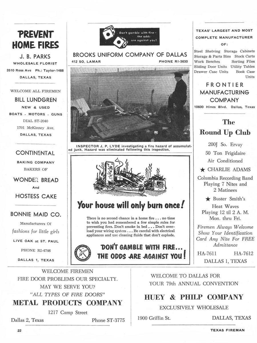 1955 Texas Fireman page 22