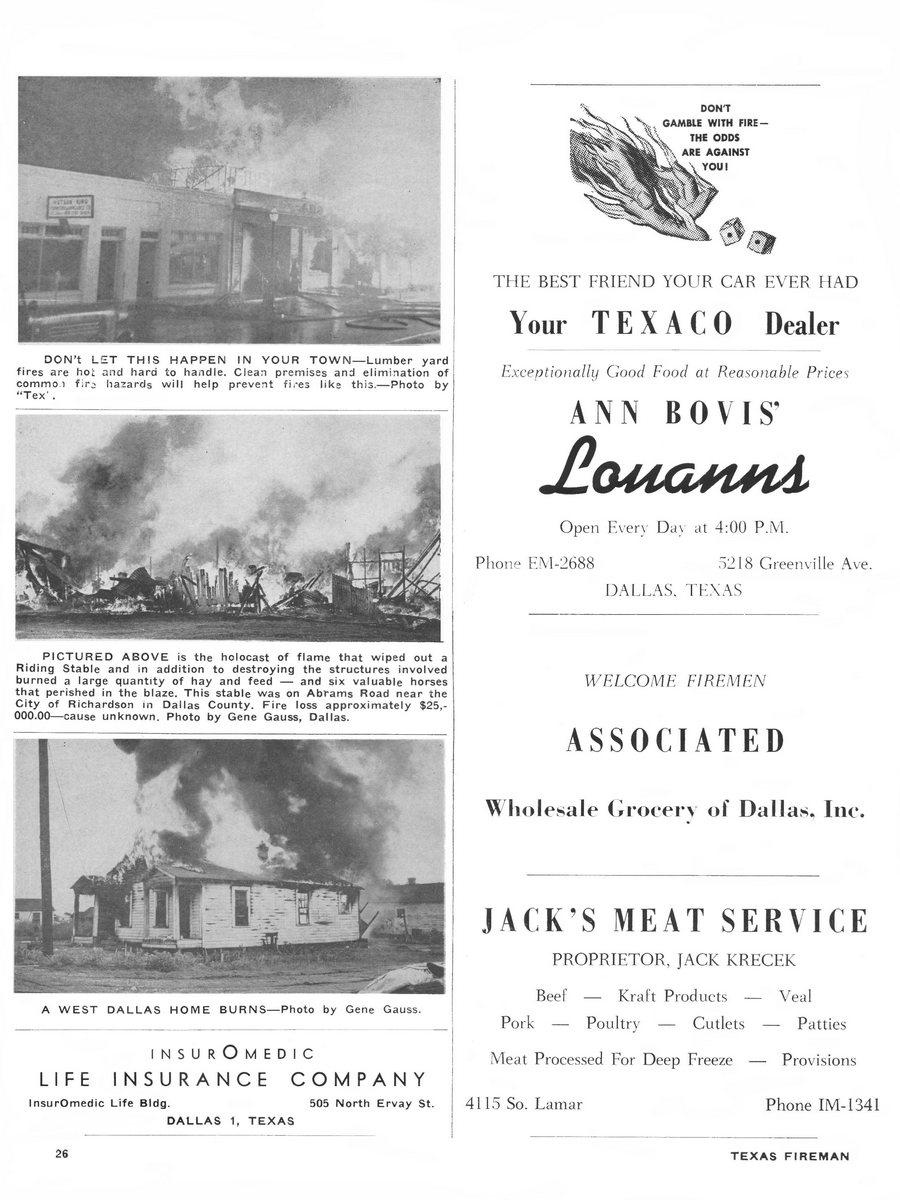 1955 Texas Fireman page 26