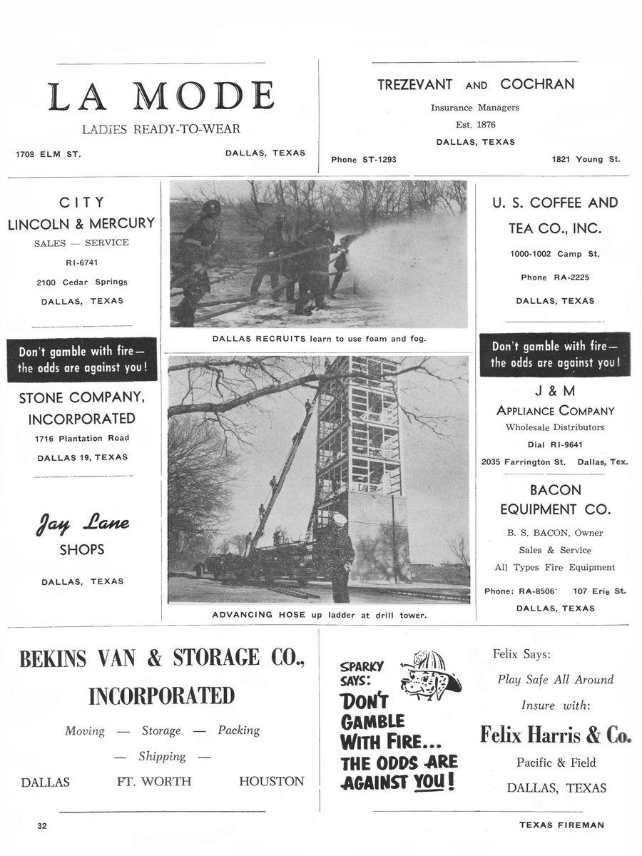 1955 Texas Fireman page 32