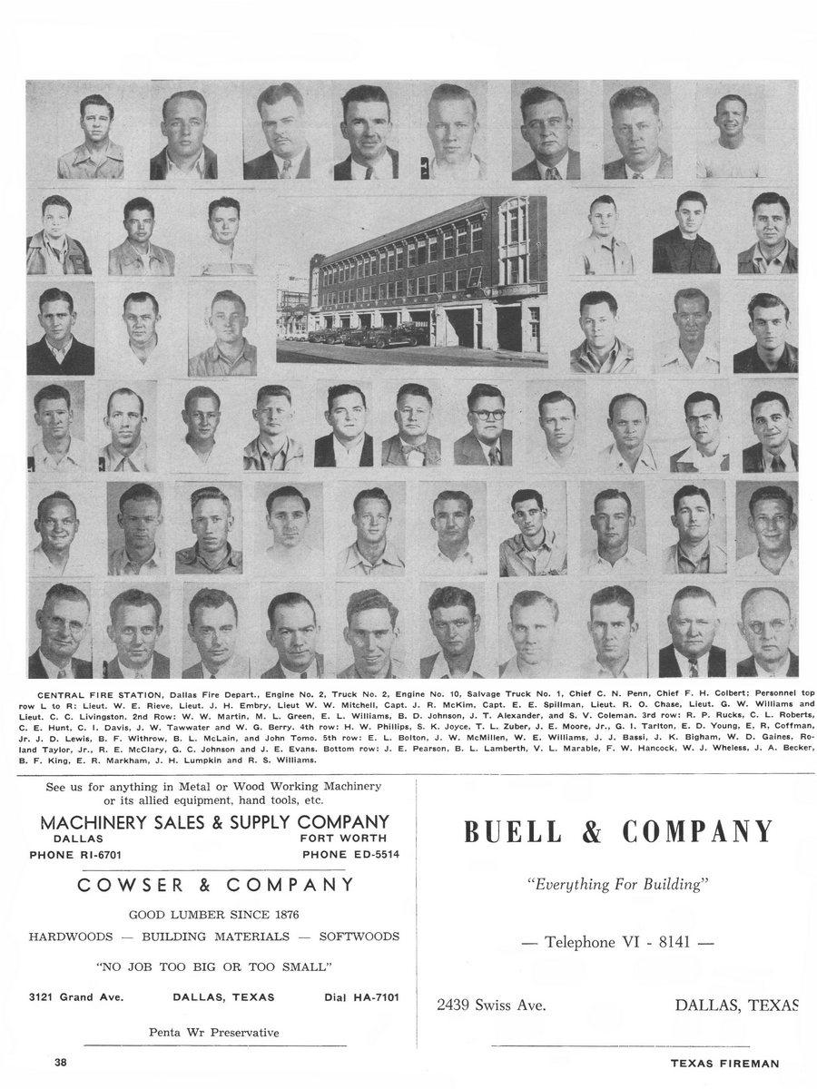 1955 Texas Fireman page 38