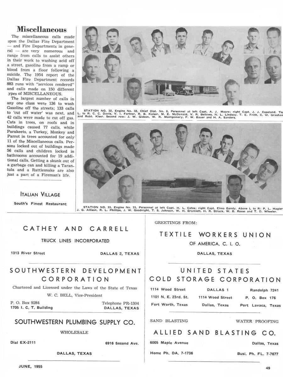 1955 Texas Fireman page 49