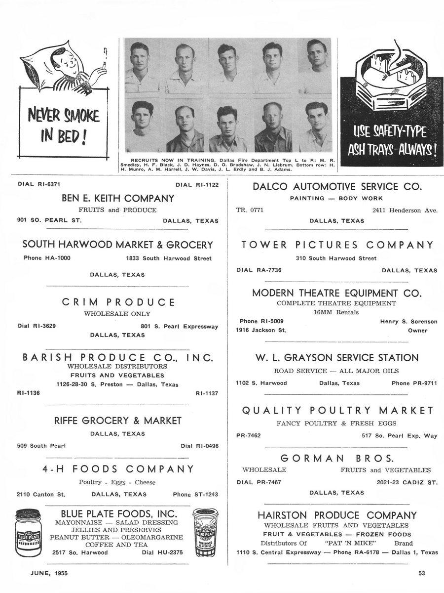 1955 Texas Fireman page 53