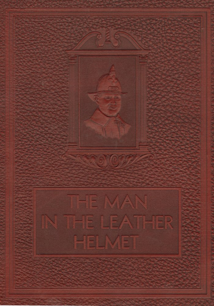 DFD 1931Leather Helmet Page 00 Book Cover